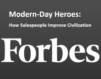 How Salespeople Improve Civilization